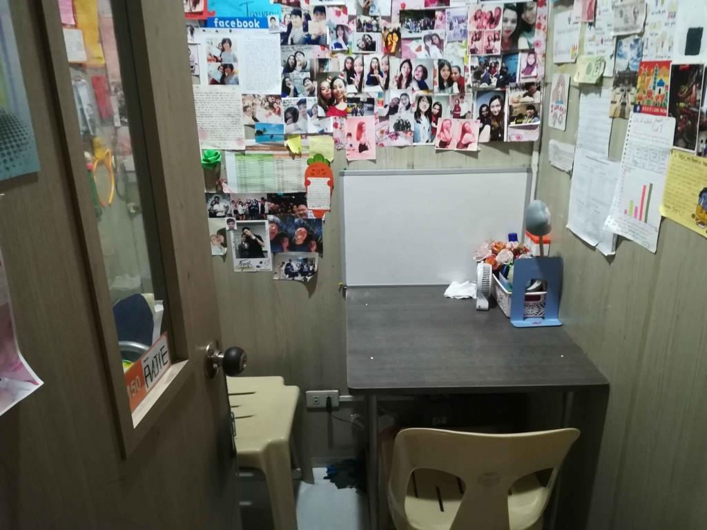セブの語学学校の個室