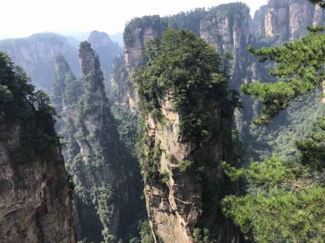 武陵源の景色