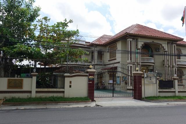マンダレーのインド総領事館