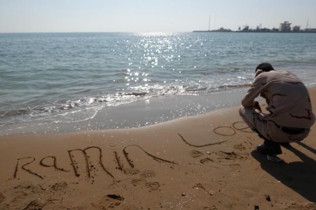 バンダルアッバースのビーチ