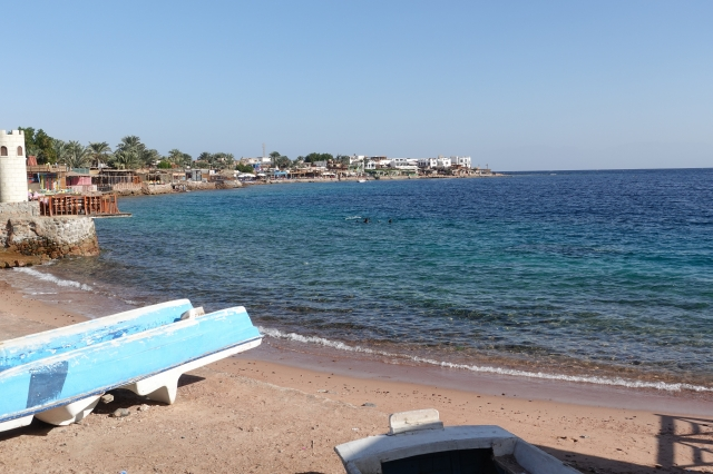 ダハブのビーチ