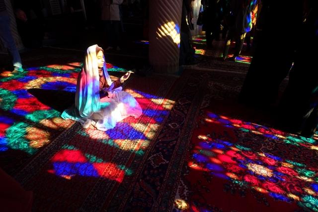 イラン・シーラーズのピンクモスク