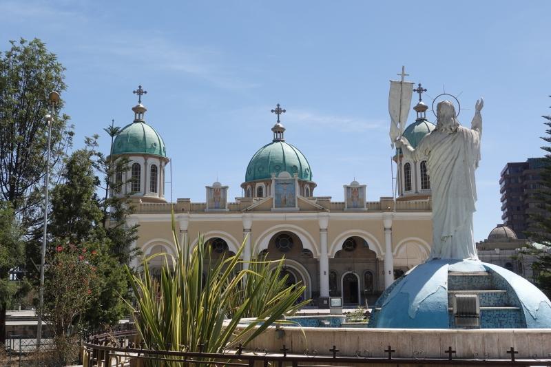 アディスアベバの教会