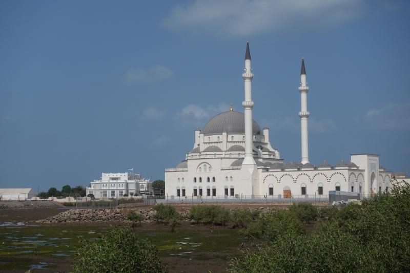 ジブチシティのモスク