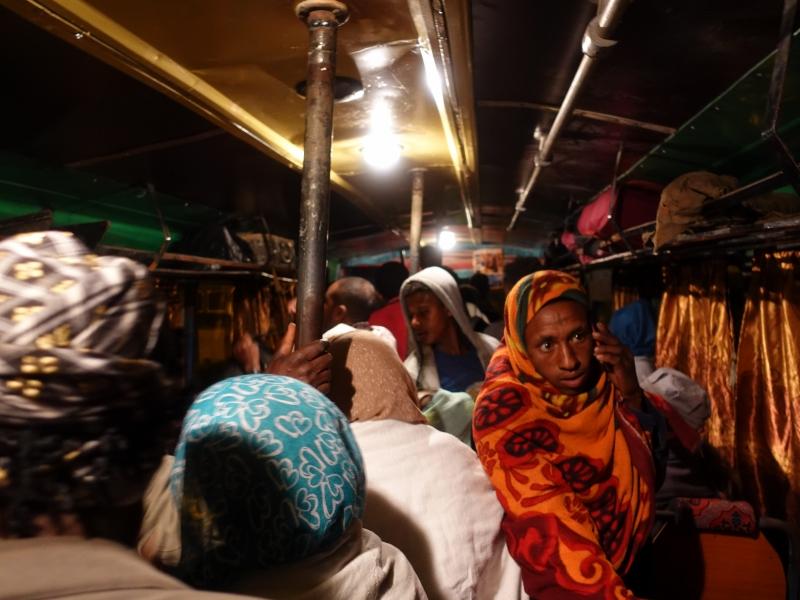 エチオピアのバス