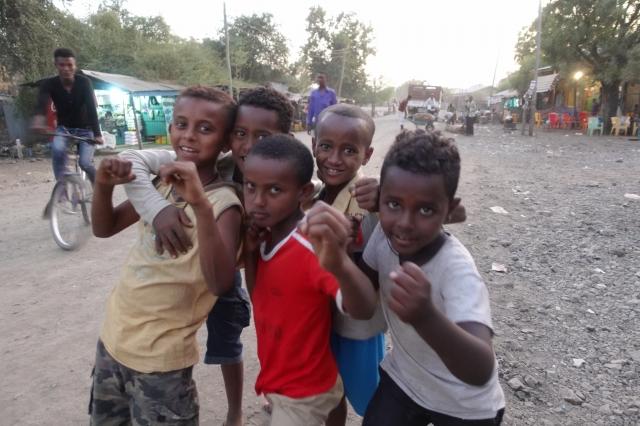 エチオピアの子どもたち
