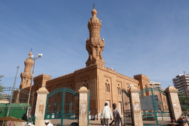 ハルツームのモスク