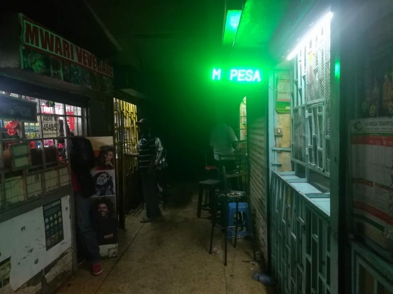 ナイロビの飲み屋街