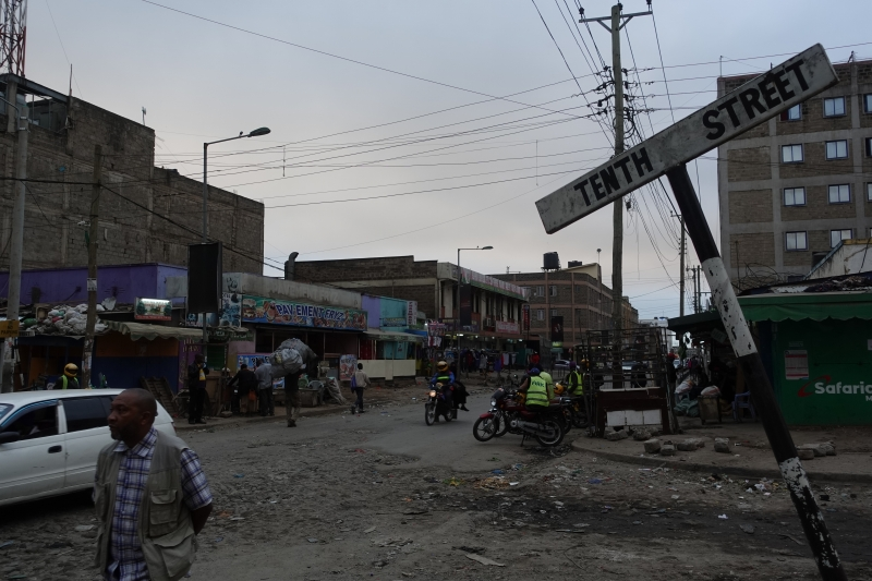 ナイロビの町並み