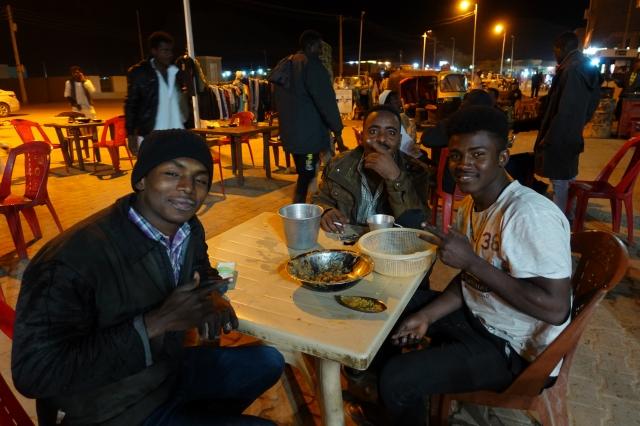 スーダンのレストラン