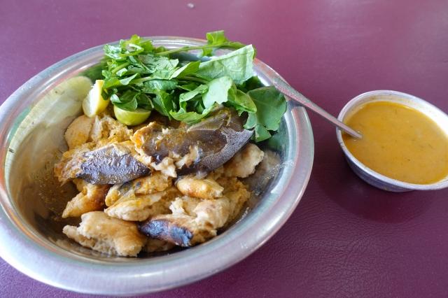 スーダンの魚料理