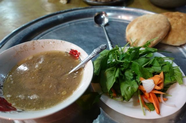 スーダンのスープ料理