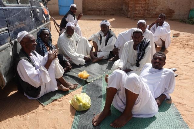 カリーマのスーダン人たち