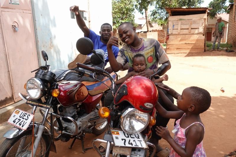 ウガンダの人々