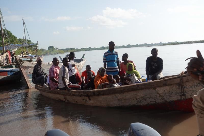 モザンビークのボート