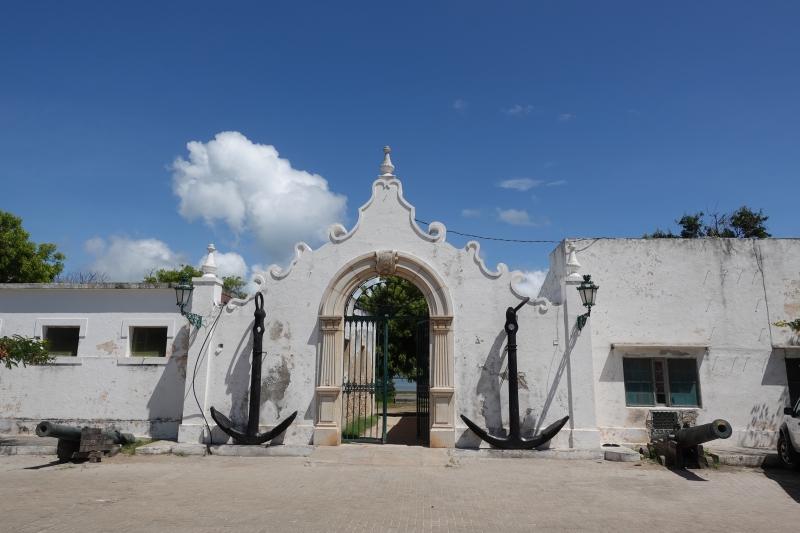 モザンビーク島の城