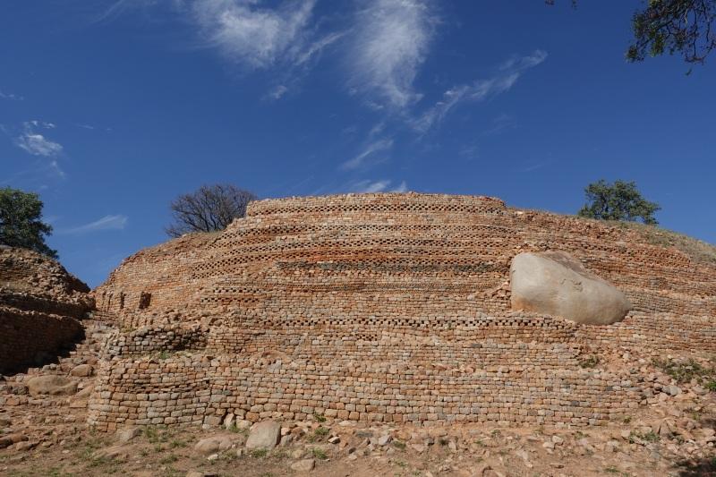 ジンバブエのカミ遺跡