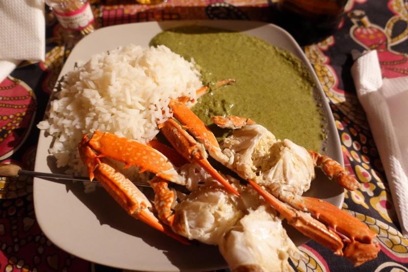 モザンビーク料理