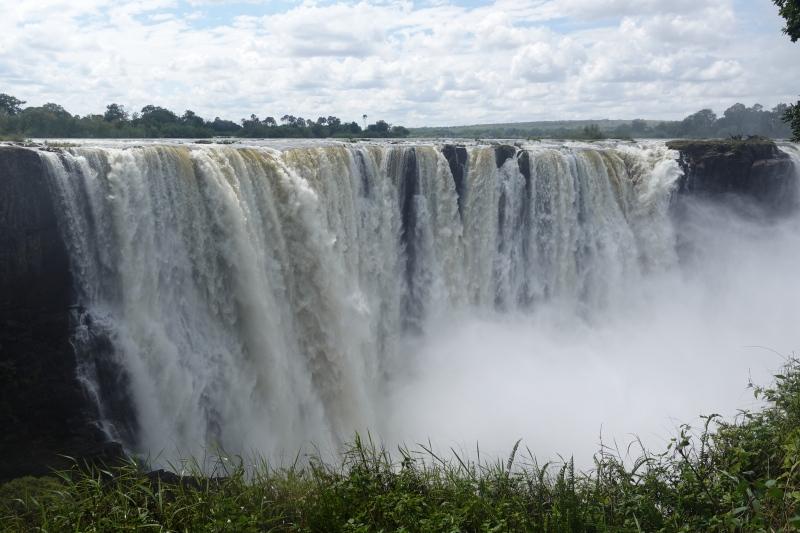 ジンバブエのビクトリアフォールズ