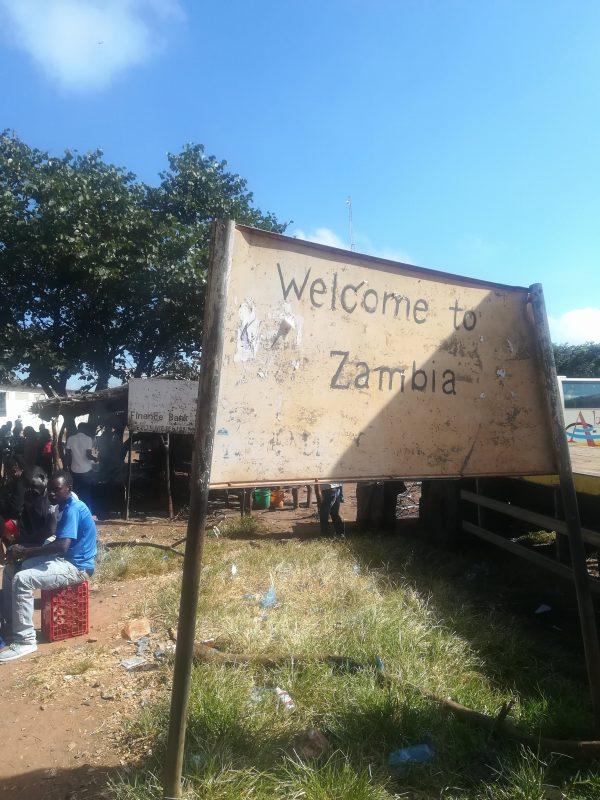 ザンビアの国境