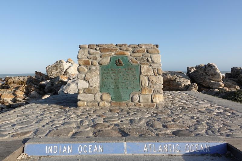 アガラス岬の石碑
