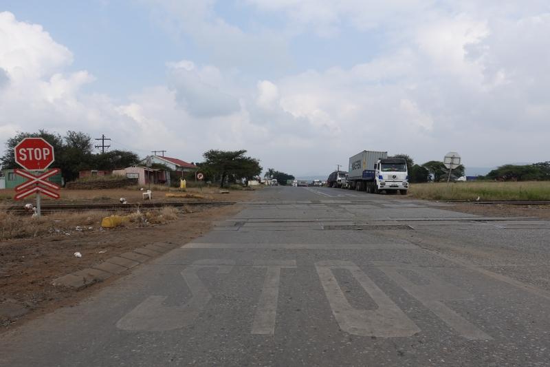 南アフリカとエスワティニの国境