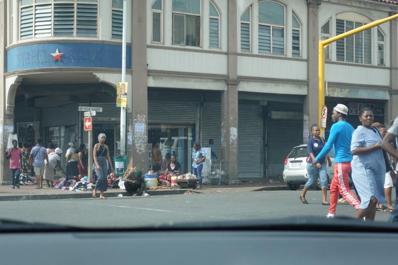 南アフリカのダーバンの町並み