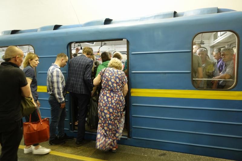 ウクライナの地下鉄