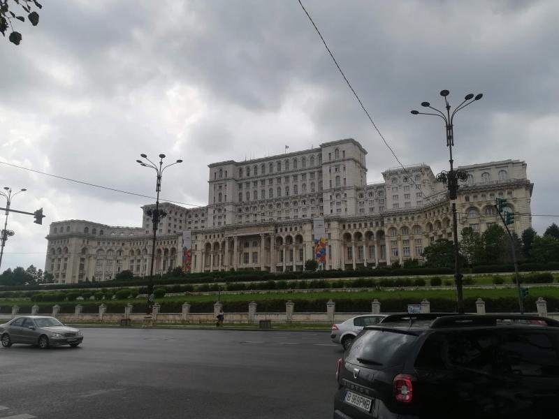 ブカレストの国会議事堂