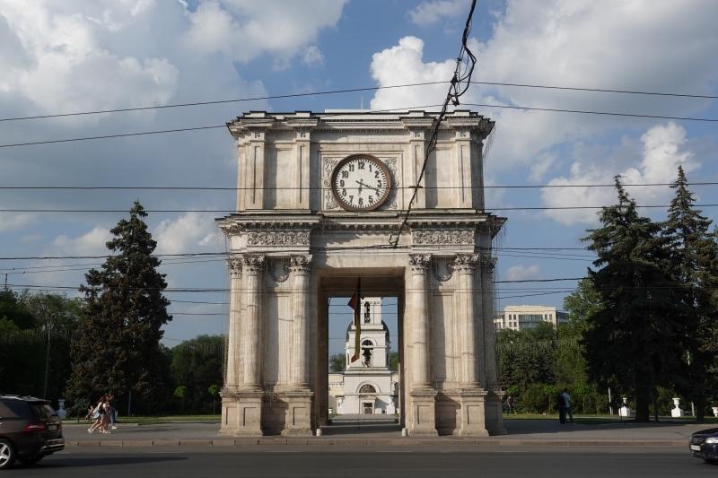 キシナウの時計台