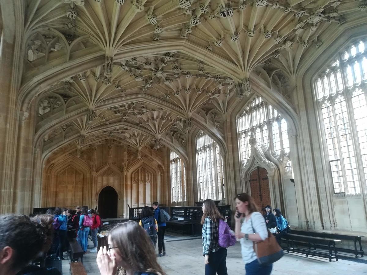 オックスフォードのホール