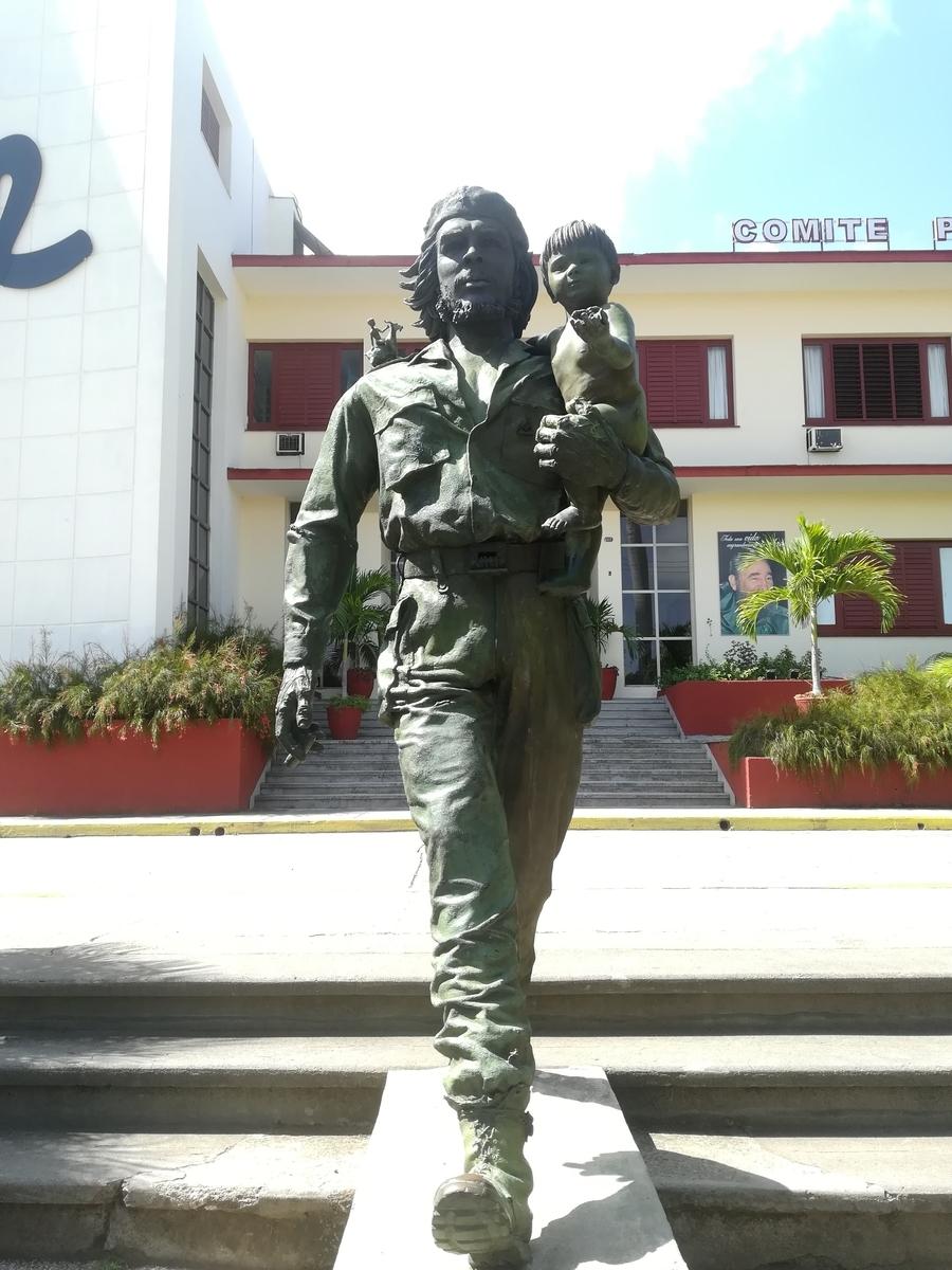 サンタクララのゲバラの像