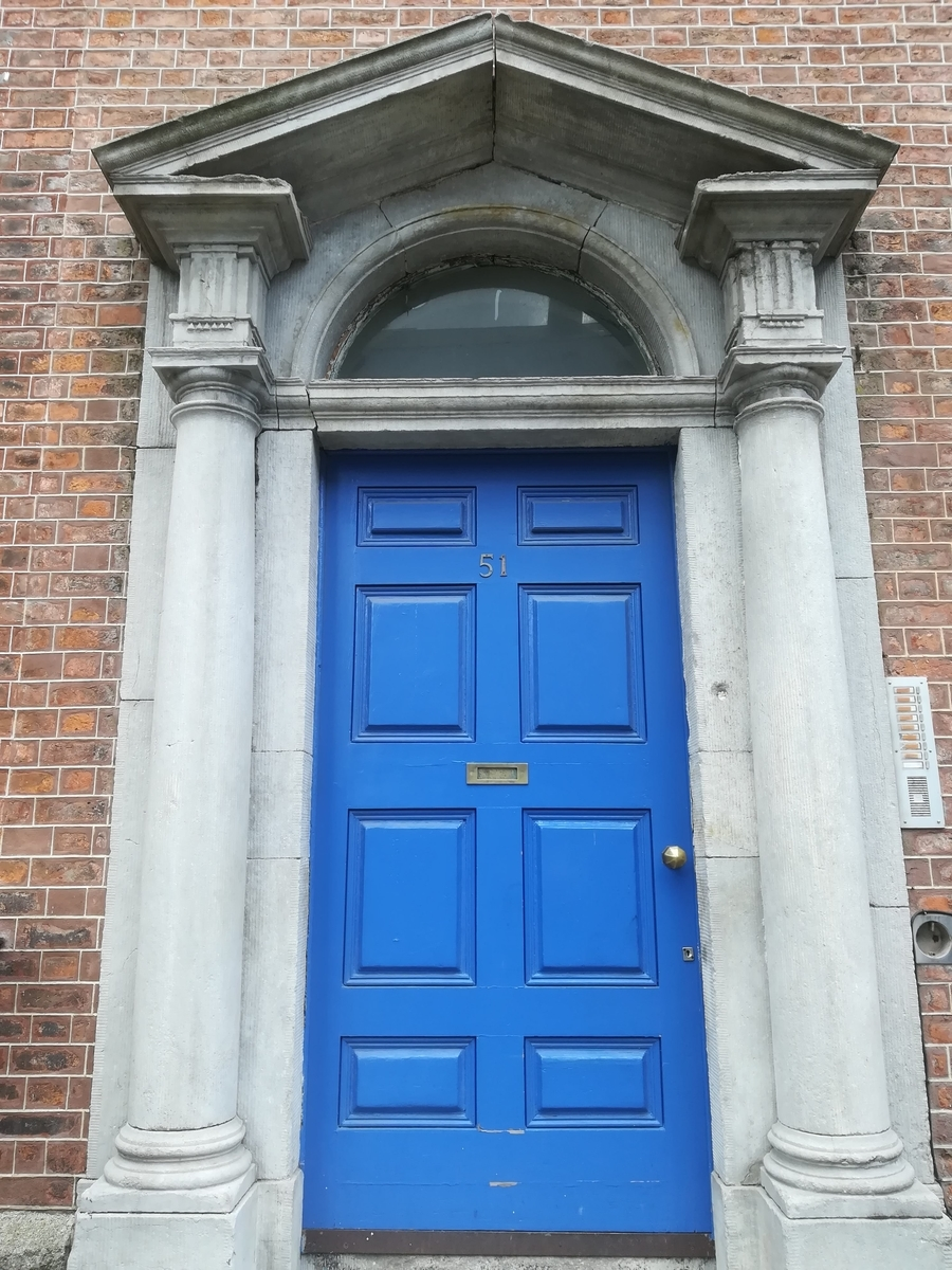 ダブリンのカラフルなドア