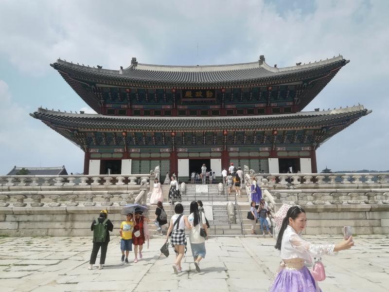 韓国の宮殿たち