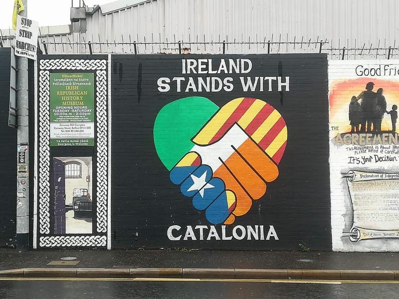 北アイルランドの壁画