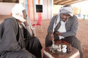 スーダン人とコーヒーを