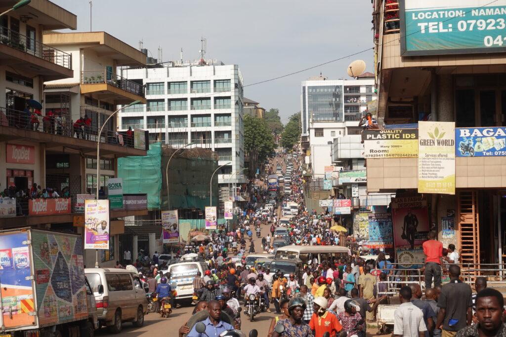 カンパラの渋滞