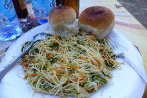 野菜スパゲッティ