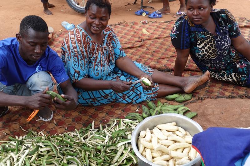 ウガンダのバナナ
